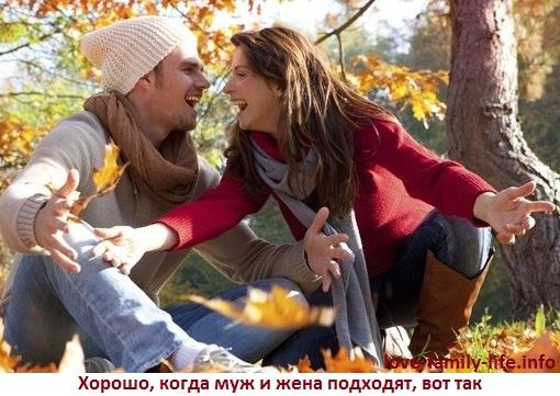 Муж и жена не подходят - не совместимость мужа и жены