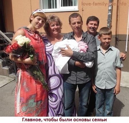Основы семьи